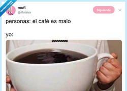 Enlace a Solo me permito una taza al día, por @Mufalsa