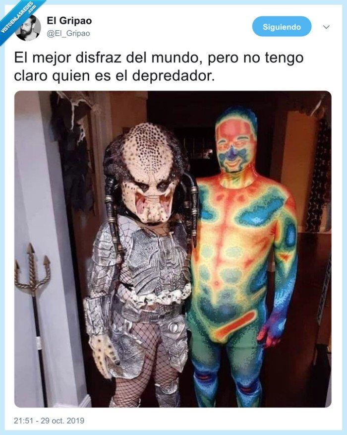 depredador,disfraz,mapa térmico,predator