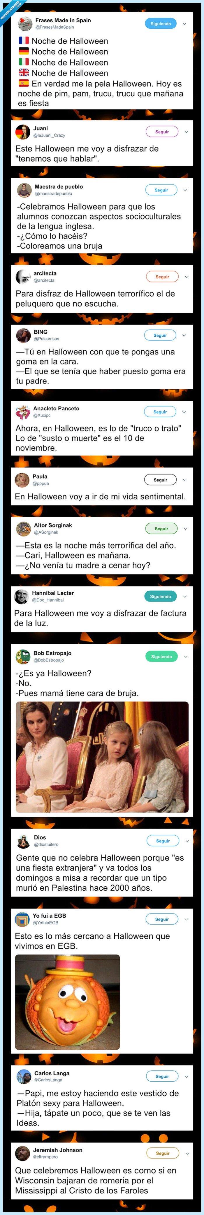 halloween,recopilación,tweets