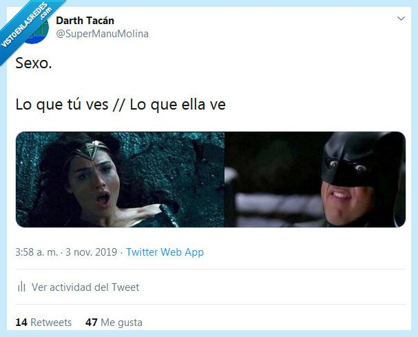 batman,cara,él,ella,ver,wonder woman
