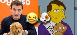 Enlace a Los Simpson ya predijeron lo del perrito de Rivera, sí por @yomismo313
