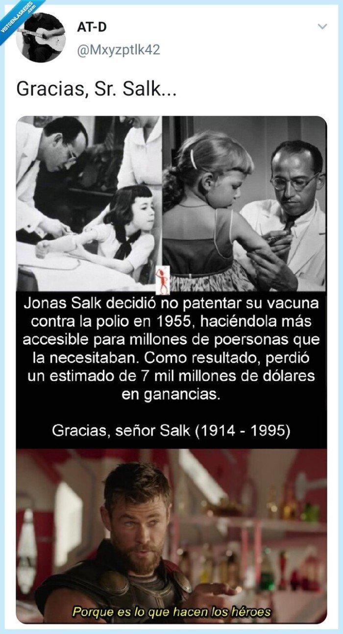 gratis,héroe,millones,Mxyzptlk42,Polio,vacuna