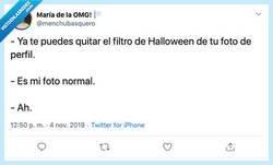 Enlace a Hay que aceptar que Halloween ya ha pasado a no ser que... por @menchubasquero