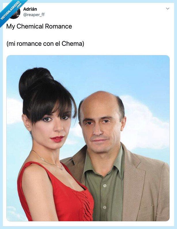 aida,chema,my chemical romance,soraya
