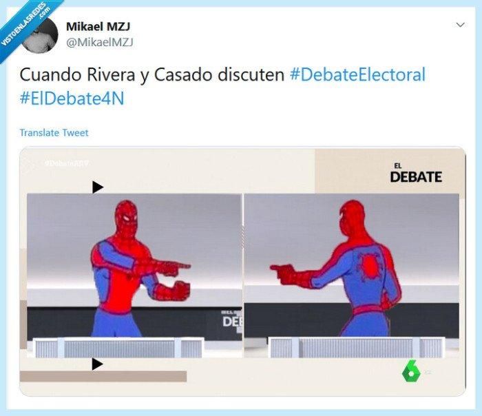 Casado,Copias,discutir,iguales,Rivera,SpiderMan