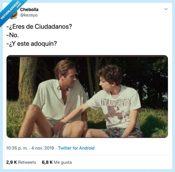 adoquin,call me by your name,ciudadanos,debate