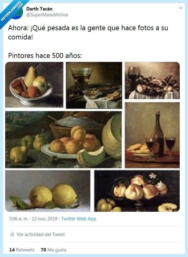 comida,fotos,pintores