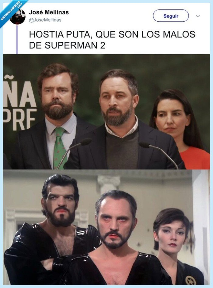 parecidos razonables,superman,vox