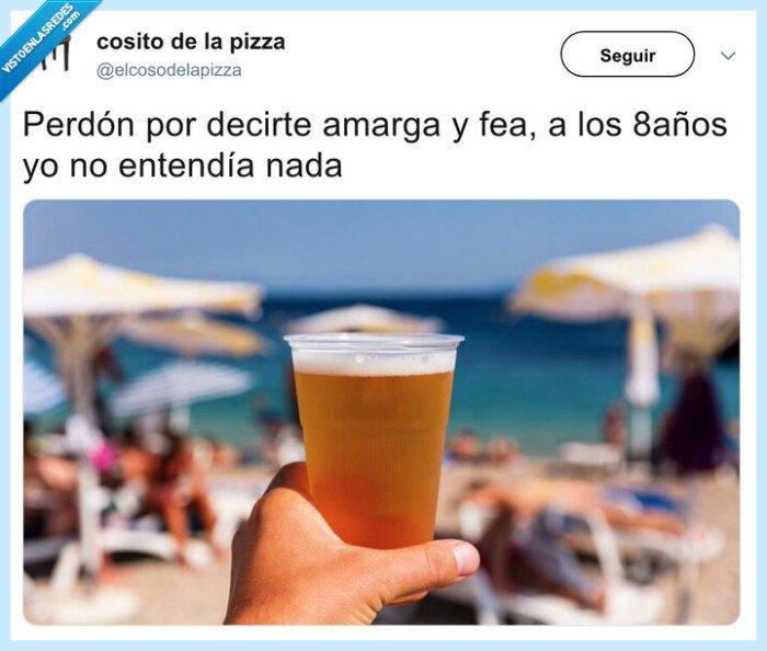 amarga,cerveza,espuma,perdón