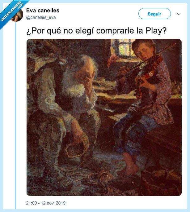 531791 - Nota mental: Nunca regalar instrumentos que hagan mucho ruido a tus hijos, por @canelles_eva
