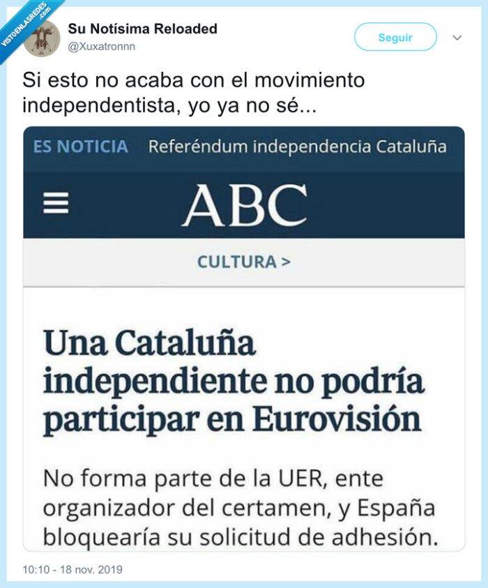 catalunya,eurovision,independencia
