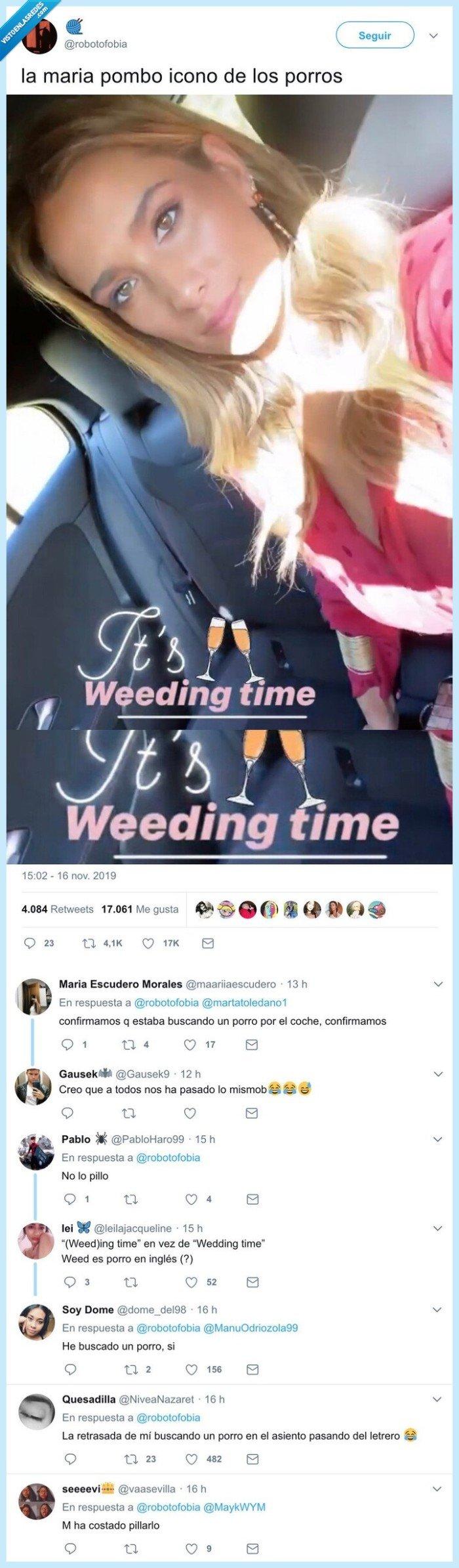inglés,maria pombo,ortografía,wedding