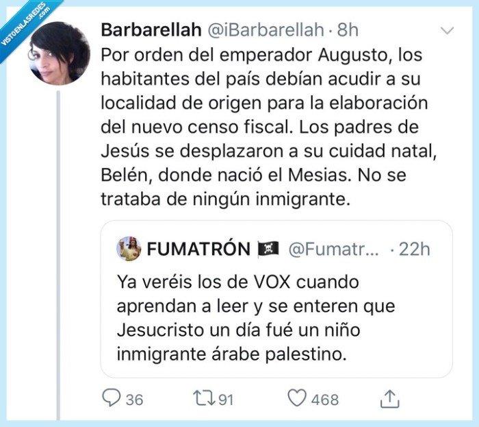 inmigrante,jesus,vox