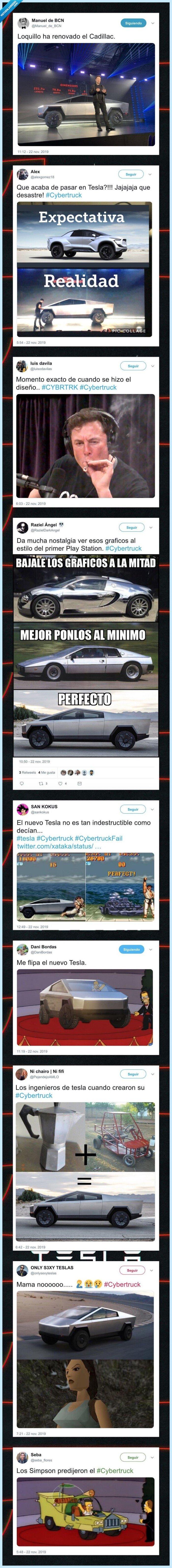 coche,cybertruck,meme,tesla
