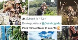 Enlace a Instagram te censura por una foto de una madre dando pecho pero este perfil de una cazadora sin escrúpulos es imposible de denunciar