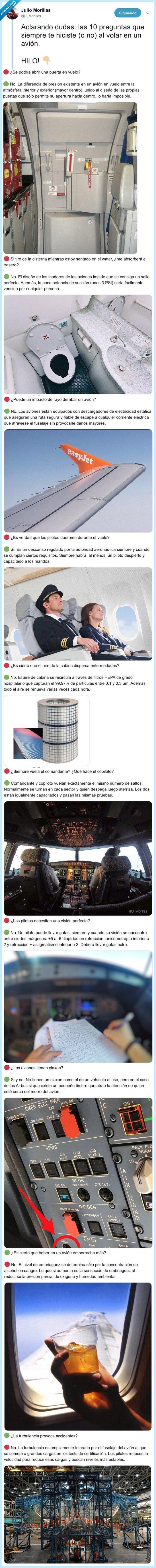 avión,preguntas,volar