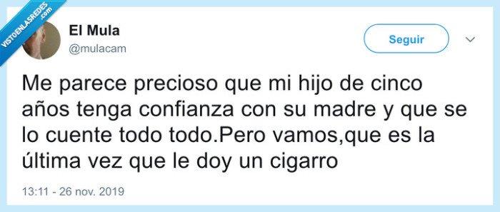 cigarro,hijo,padre,secreto,tabaco
