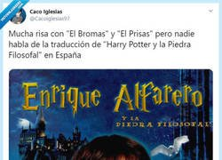 Enlace a Las aventuras de Enrique Alfarero, por @Cacoiglesias97