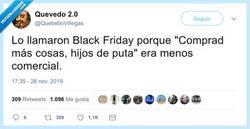 Enlace a Levantarse con 50 emails de Black Friday es agobiante, por @quebebovillegas