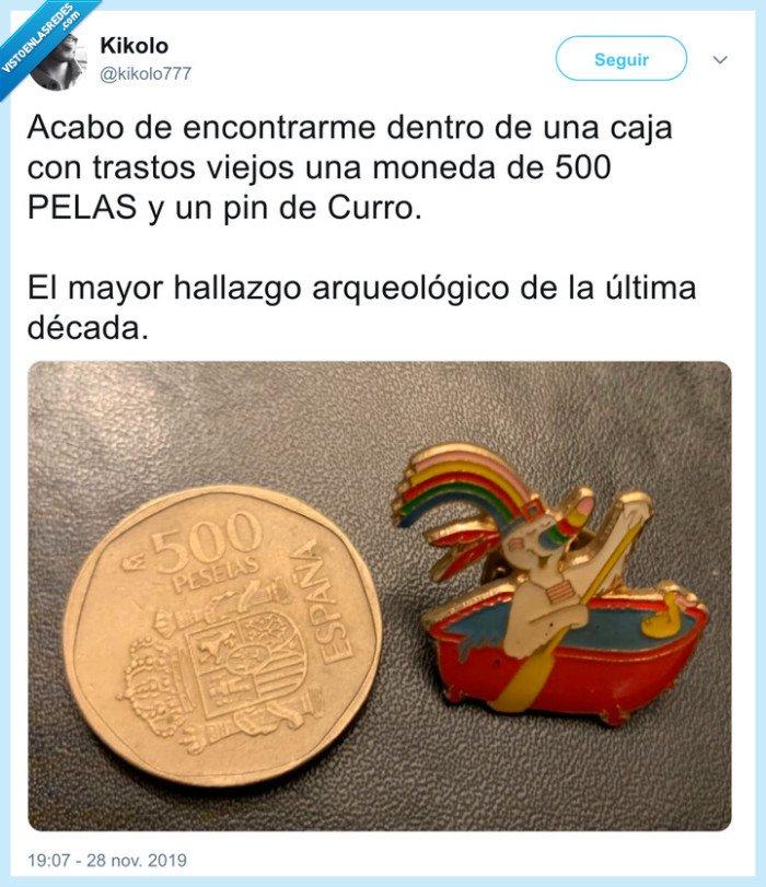 500 pts,curro,moneda