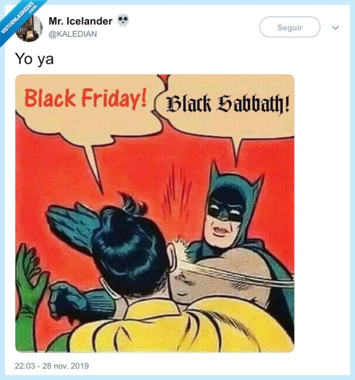 basta ya,black friday,black sabbath