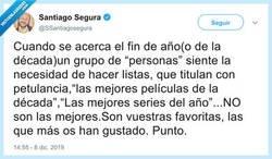Enlace a Haced caso a Santiago Segura, que una vez en la vida dice algo con sentido