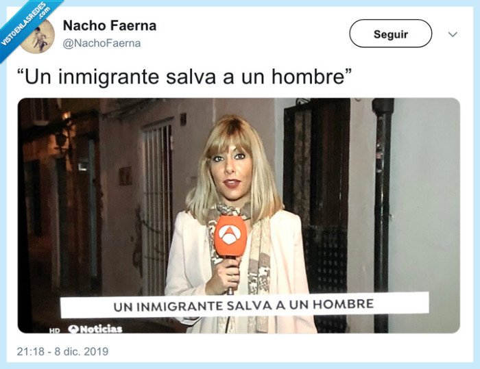hombre,inmigrante,salvar,titular