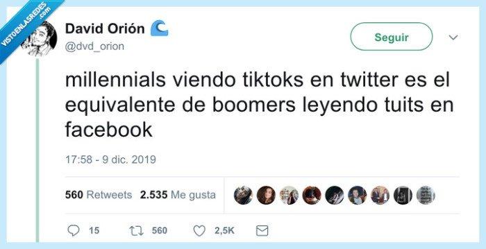 boomer,facebook,millennials,tiktok,tweets,twitter
