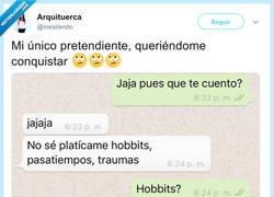 Enlace a Cuéntame un hobbit que tengas, por @insistiendo
