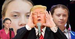 Enlace a Greta Thunberg vuelve a vacilar a Donald Trump en twitter