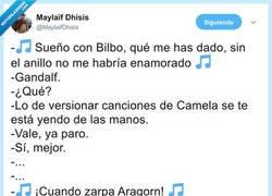 Enlace a Camela feat. El Señor de los Anillos, por @MaylaifDhisis