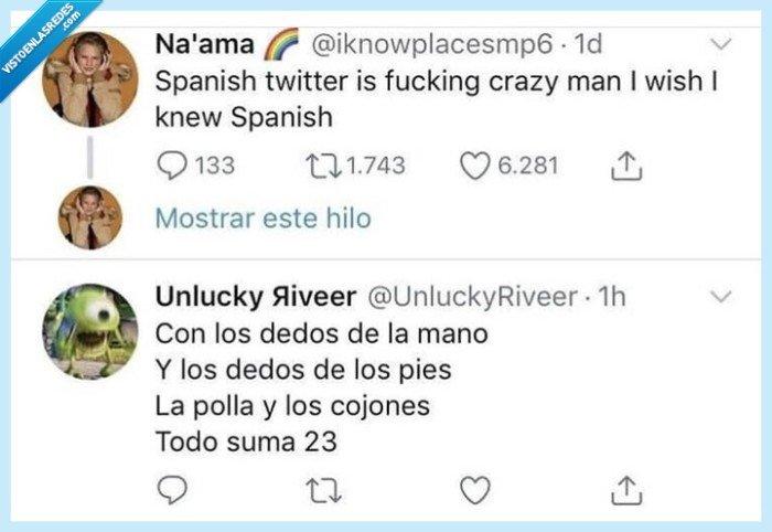 bonito,español,lengua