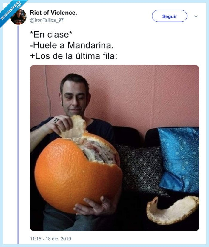 gigante,mandarina,última fila