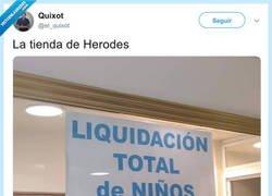 Enlace a La tienda de Herodes, por @el_quixot