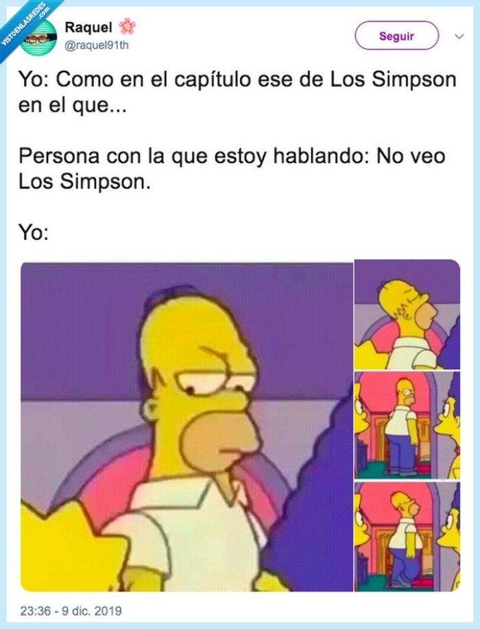 homer,indignación,los simpson,the simpsons,twitter