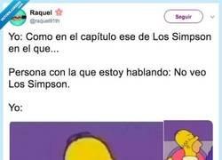 Enlace a Como en ese capítulo de Los Simpson en el que... Por @raquel91th