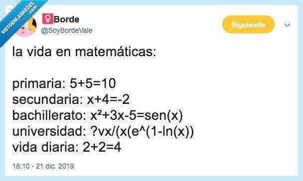 matemáticas,operaciones,vida