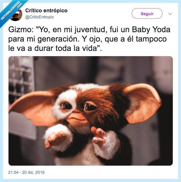 baby yoda,comparación,gizmo,gremlins,marta sanchez,rosalía