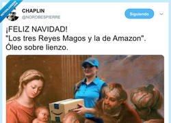 Enlace a Qué sería una navidad sin Amazon, por @NOROBESPIERRE