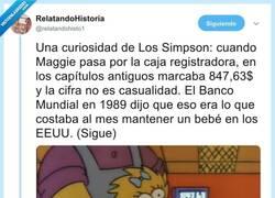 Enlace a El tremendo huevo de Pascua en la intro de los Simpson: el precio de Maggie al pasarla por el cajero era una queja social