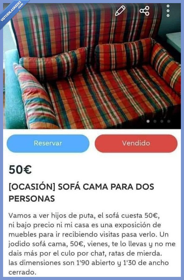 sofá,venta,wallapop