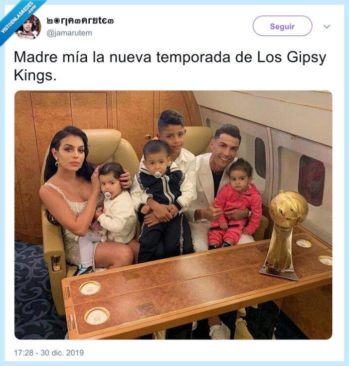 cristiano ronaldo,familia,gipsy kings