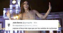 Enlace a Emosido engañado: La realidad del desnudo de Cristina Pedroche anoche para promocionar las campanadas