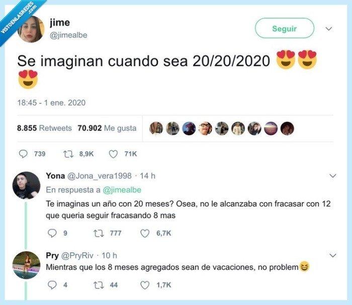 2020,mes 20,meses,veinte