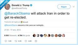 Enlace a Trump ya lo avisó hace 8 años. Viva el doble rasero