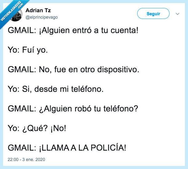 elprincipevago,Gmail,google,seguridad