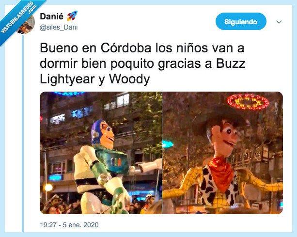 cabalgata,feos,reyes magos,toy story,woody
