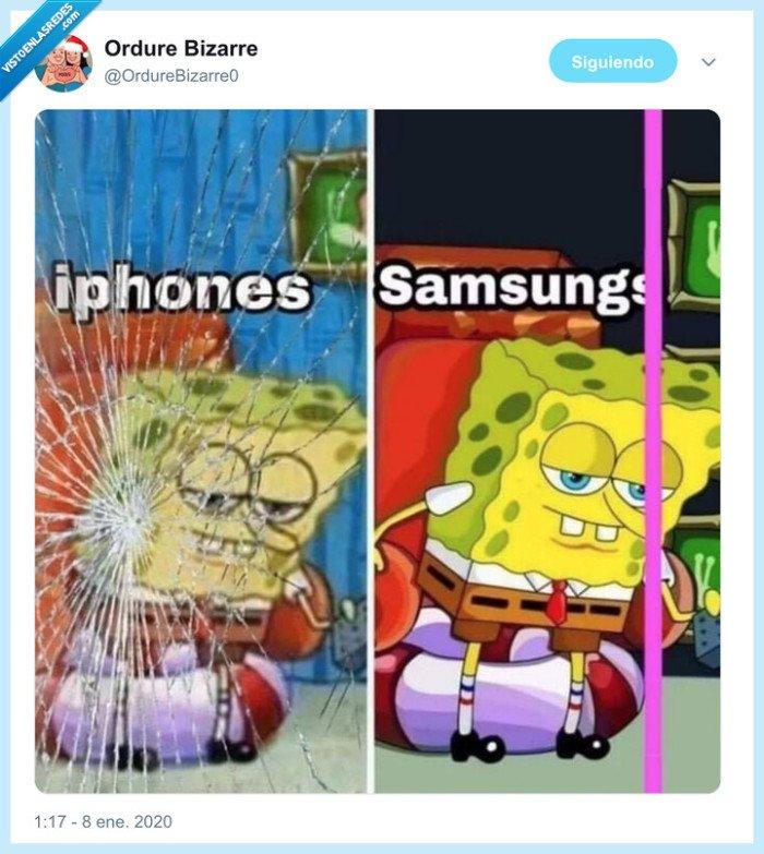 iphone,pantalla,raya,roto,samsung