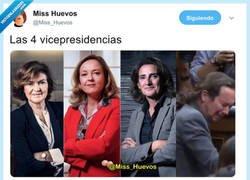Enlace a Las múltiples vicepresidencias, por @Miss_Huevos