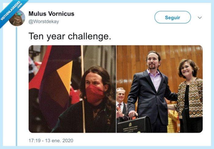 10 años,cambio,pablo iglesias,revolución